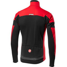 Castelli Transition Jacket Herre red/black